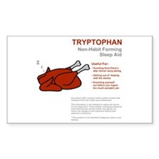 Tryptophan Rectangle Decal