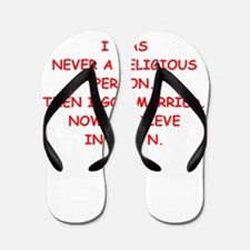 marriage Flip Flops