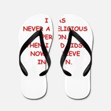 satan Flip Flops