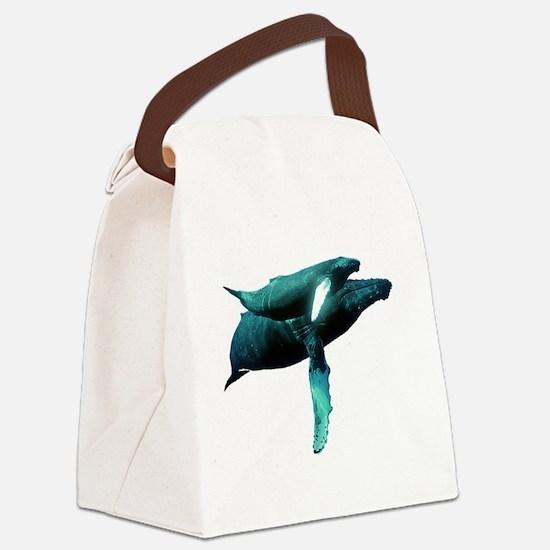 Cute Grandparent Canvas Lunch Bag