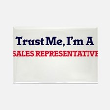 Trust me, I'm a Sales Representative Magnets