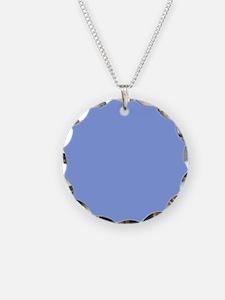Periwinkle Blue Solid Color Necklace