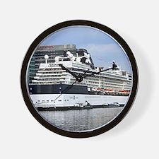 Cute Celebrity cruises Wall Clock