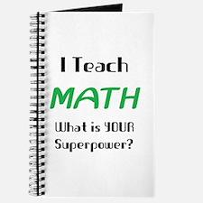 teach math Journal