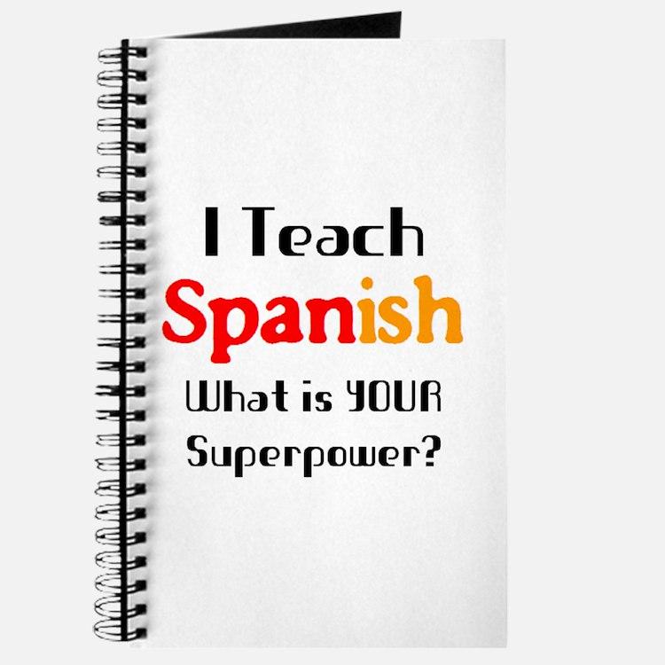 teach spanish Journal