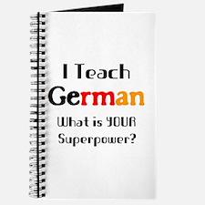teach german Journal
