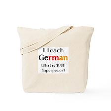 teach german Tote Bag