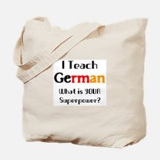 teach german Tote Bag
