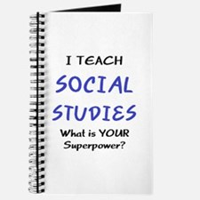 teach social studies Journal