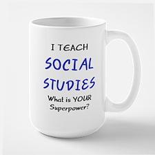 teach social studies Mug