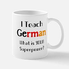 teach german Mug
