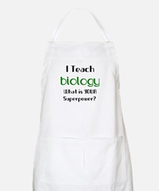 teach biology Apron