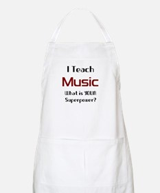 teach music Apron