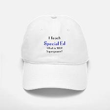 teach special ed Baseball Baseball Cap