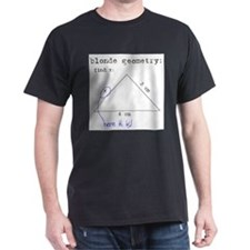 Blonde Geometry Ash Grey T-Shirt