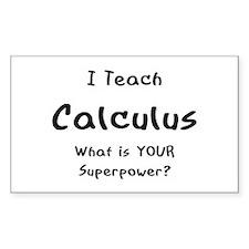 teach calculus Decal