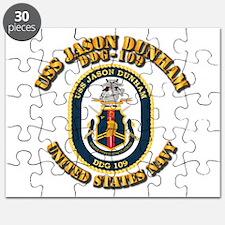 USS Jason Dunham - DDG-109 w Txt Puzzle