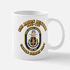 USS Jason Dunham - DDG-109 w Txt Small Small Mug
