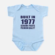 Built In 1977 Infant Bodysuit