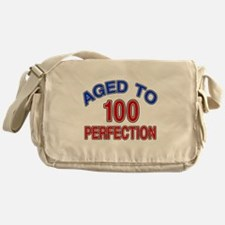 100 Aged To Perfection Messenger Bag