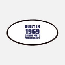 Built In 1969 Patch