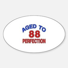 88 Aged To Perfection Decal