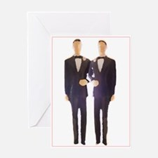 Gay Male Weddin Greeting Cards
