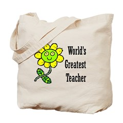 World's Greatest Teacher 1 Tote Bag