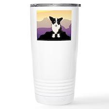 Unique Cardigan welsh corgi cartoon Travel Mug