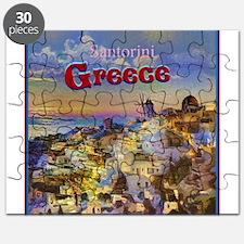 Santorini Greece Puzzle
