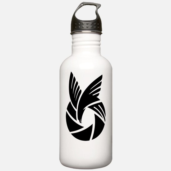 Funny I love photography Water Bottle