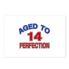 14 Aged To Perfection Postcards (Package of 8)