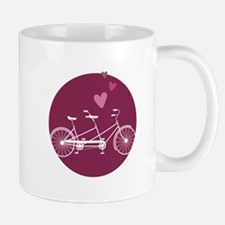 Tandem Bicycle Mugs