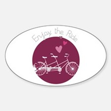 Enjoy The Ride Decal