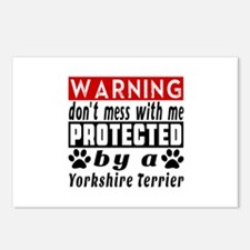 Protected By Yorkshire Te Postcards (Package of 8)
