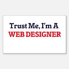Trust me, I'm a Web Designer Decal