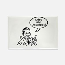 Funny Rude ARIES Rectangle Magnet