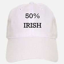 50% Irish Baseball Baseball Cap
