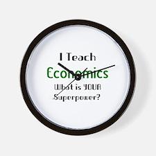 Funny Economics Wall Clock