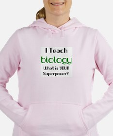 teach biology Women's Hooded Sweatshirt