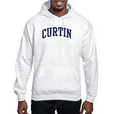 CURTIN design (blue) Hoodie