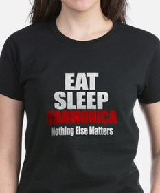 Eat Sleep Harmonica Tee