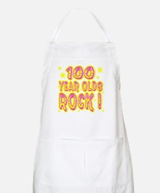 100 Year Olds Rock ! BBQ Apron