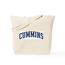 CUMMINS design (blue) Tote Bag