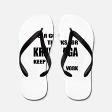 Dear God Thanks For Krav Maga Flip Flops