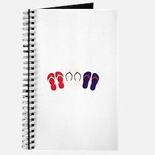 USA Flip Flops Journal