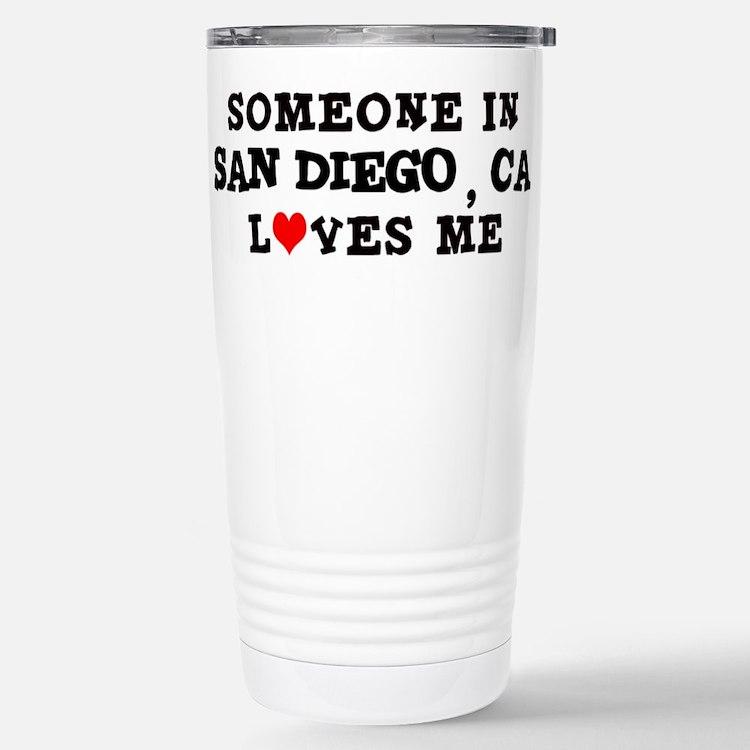 Cute San diego souvenir Travel Mug