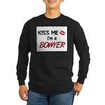 Kiss Me I'm a BOWYER Long Sleeve Dark T-Shirt