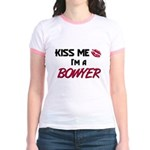 Kiss Me I'm a BOWYER Jr. Ringer T-Shirt