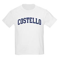 COSTELLO design (blue) T-Shirt